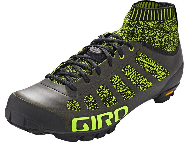 Giro Empire Vr70 Knit Schuhe Herren lime/black